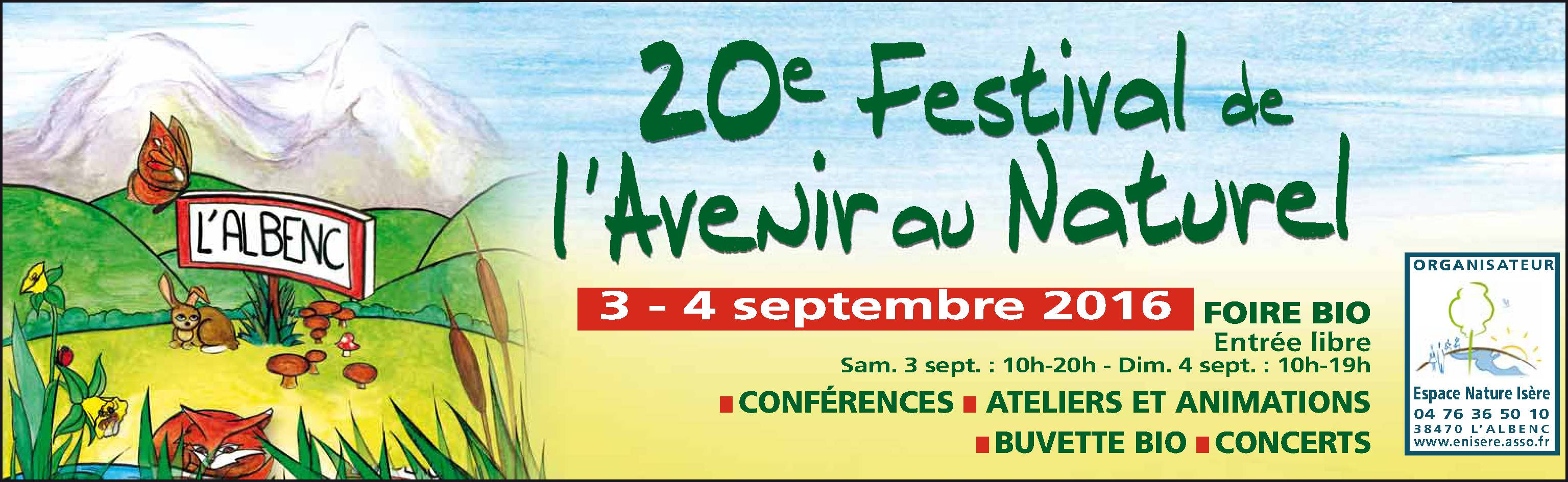Présentation des produits naturels Kitostim et BioFloc-Plus pour le jardin et la piscine au salon de l'Albenc en septembre 2016